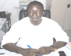 Mbaye Babou, Académic Inspector (Assistant School Commisioner), and supporter of ELEVEate.