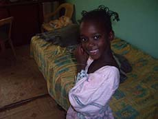 Young Senegal girl