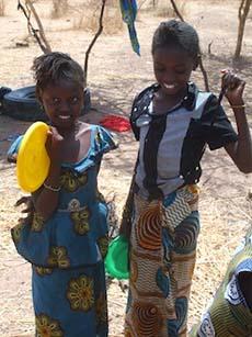 Two Senegal girls