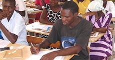 Male Senegal Student